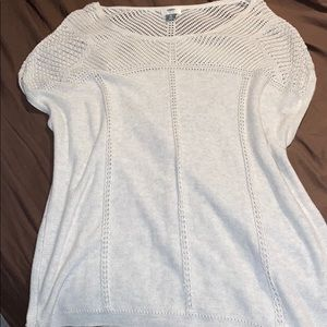Beautifully Knitted, Gently Used, Sweater in Cream